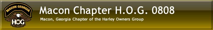 Macon H.O.G. Chapter 0808
